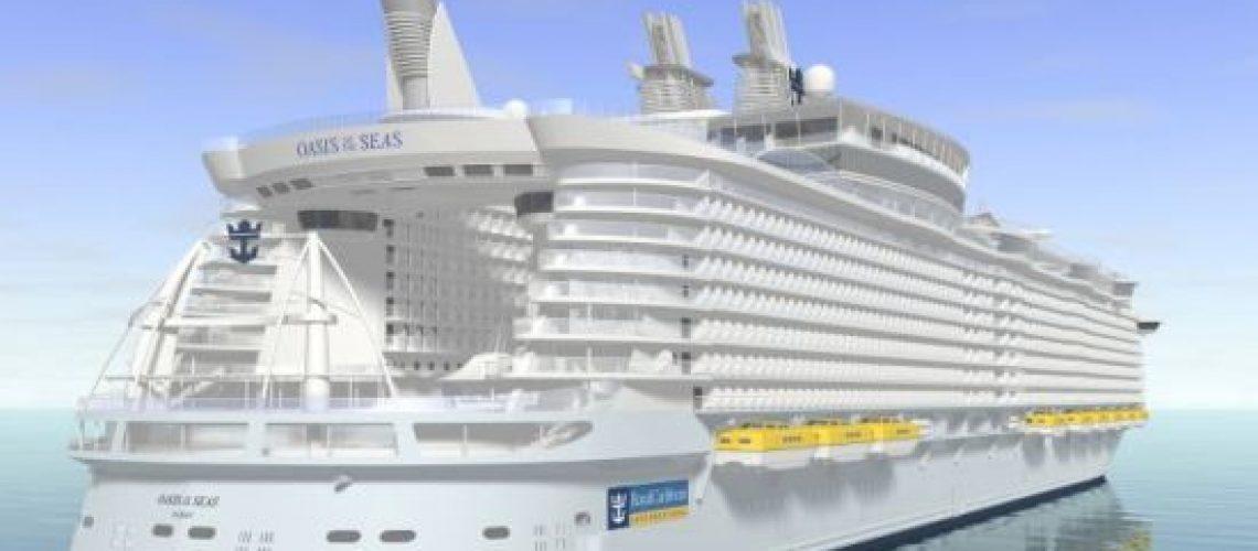 Maior e mais caro cruzeiro do mundo zarpará da Finlândia