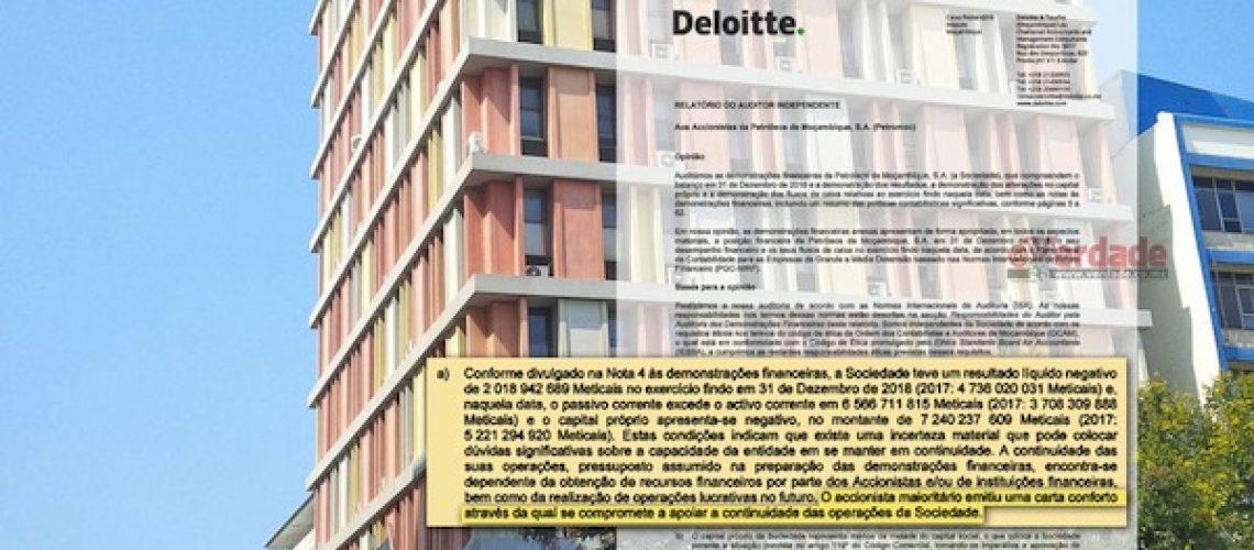 Petromoc em falência pelo 3º ano consecutivo