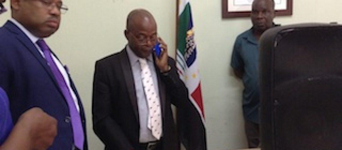 Gerais 2019: Ossufo Momade acusa direcção do STAE de desleixo