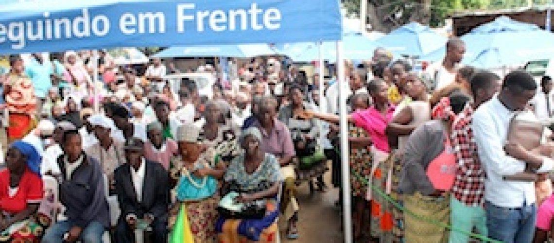 Maxixe: Cidadãos beneficiados com 2.500 BI's