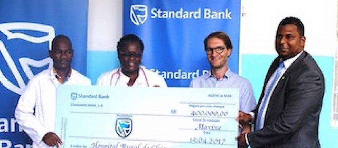 Orfanato e hospital destruídos pelo ciclone Dineo: Standard Bank apoia reconstrução