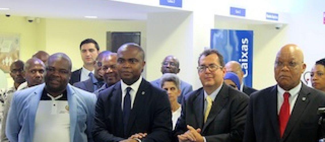 Com novas funcionalidades: Standard Bank reinaugura agência de Pemba