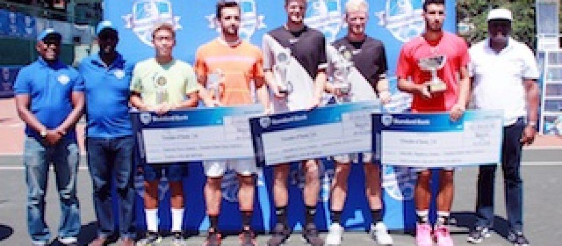 Tenista argentino vence primeiro Future do Standard Bank Open