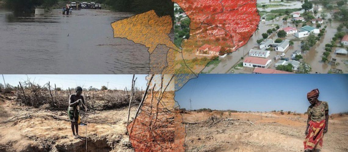 Moçambique vive pior seca em décadas
