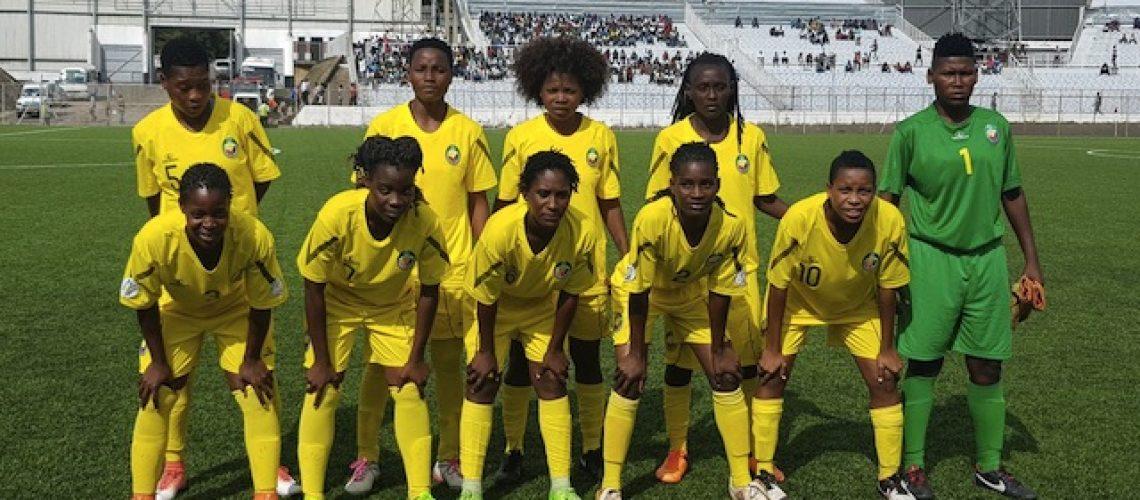 Selecção feminina de futebol de Moçambique eliminada 1-14 pelo Malawi das eliminatórias para Jogos Olímpicos