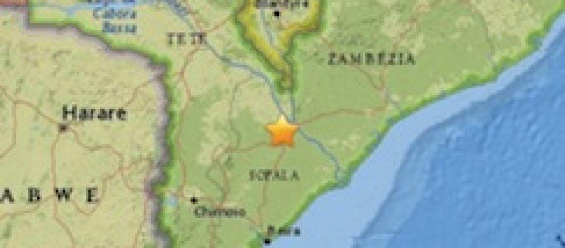 Pequeno sismo registado na província de Sofala