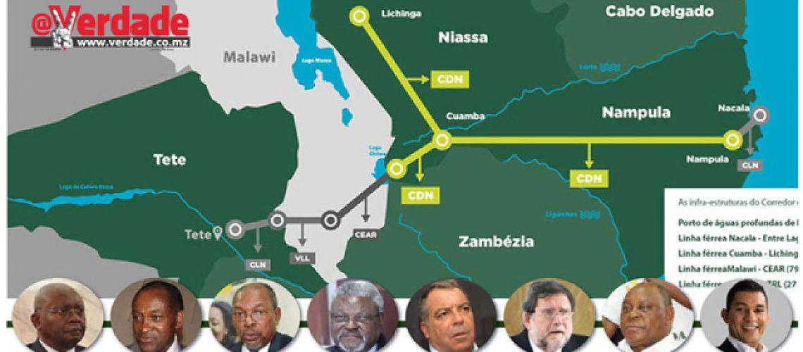 Linha férrea Cuamba - Lichinga promessa eleitoral cumprida ou mais um negócio que beneficiou alguns membros da Frelimo