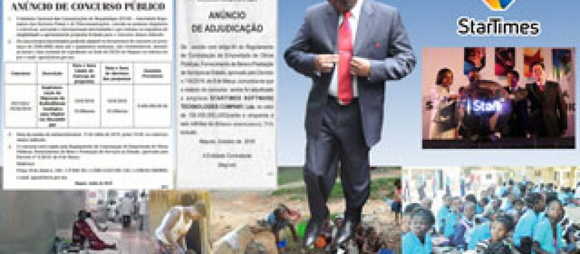 Concurso público para moçambicano ver milhões de dólares serem gastos na Migração Digital em vez de comida