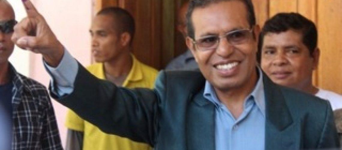 Taur Matan Ruak vencedor das presidenciais em Timor Leste