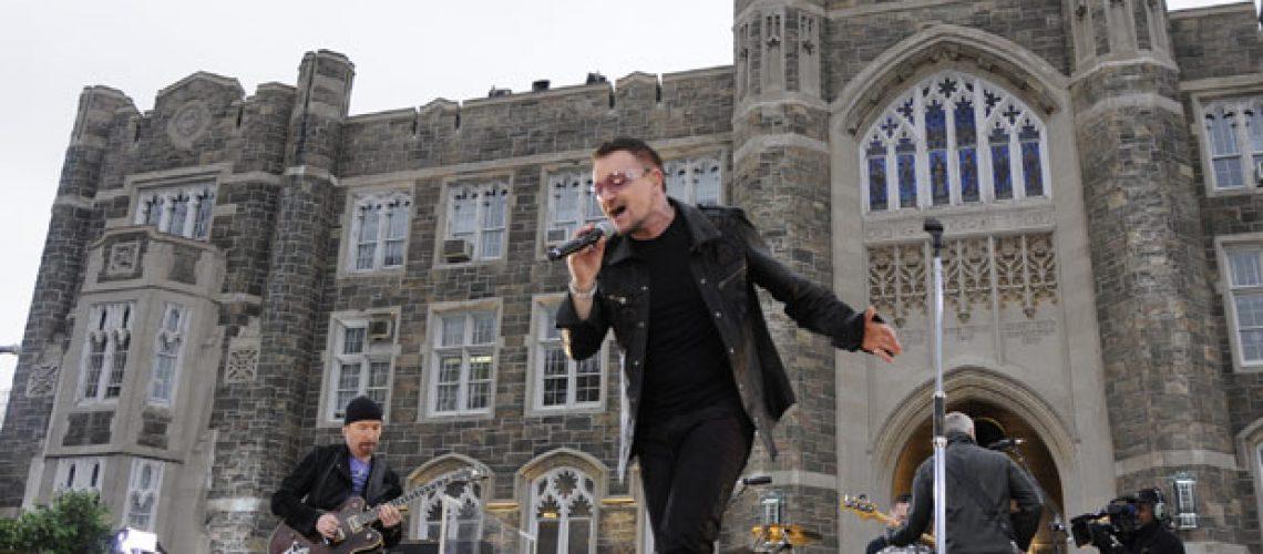 U2 inicia turnê mundial em junho