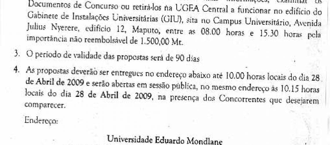 UEM.UGEA/108/09