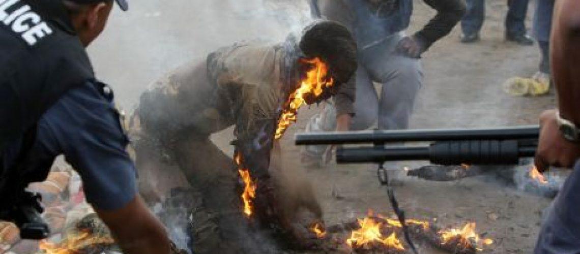 Moçambicanos vítimas de violência xenófoba na África do Sul
