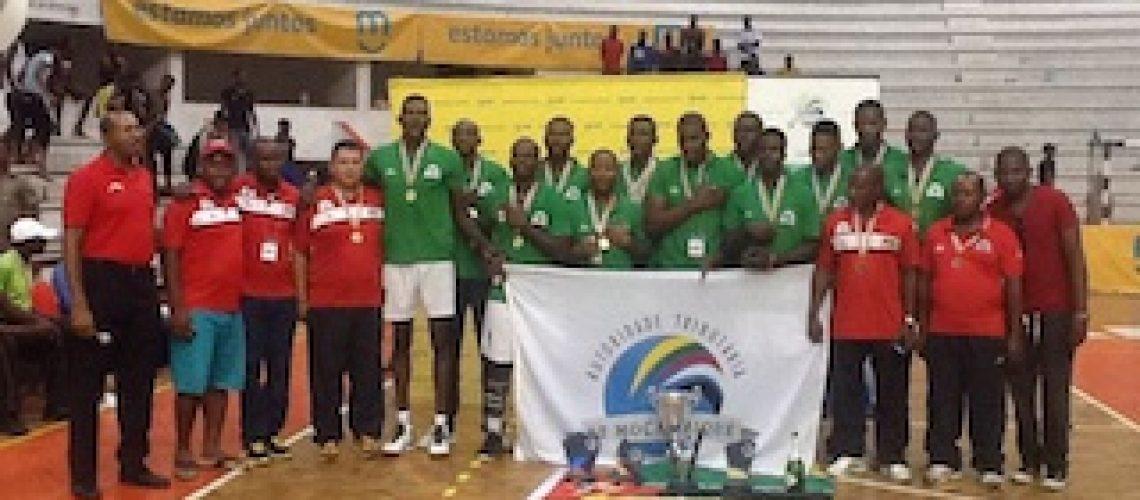 Voleibol: Autoridade Tributária tricampeã da Zona VI