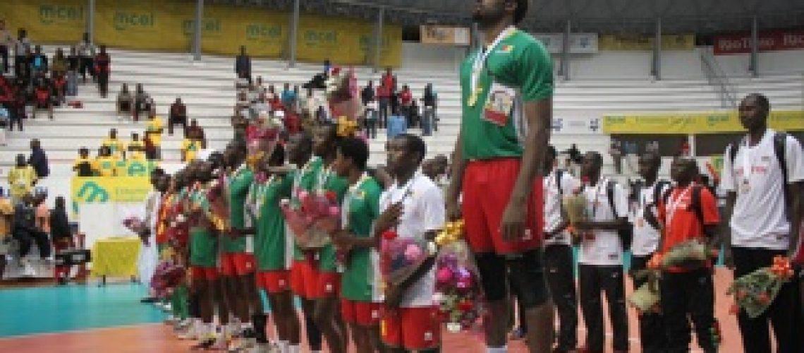 Diario X Jogos Africanos: Leões Indomáveis levam medalhas de ouro no voleibol masculino