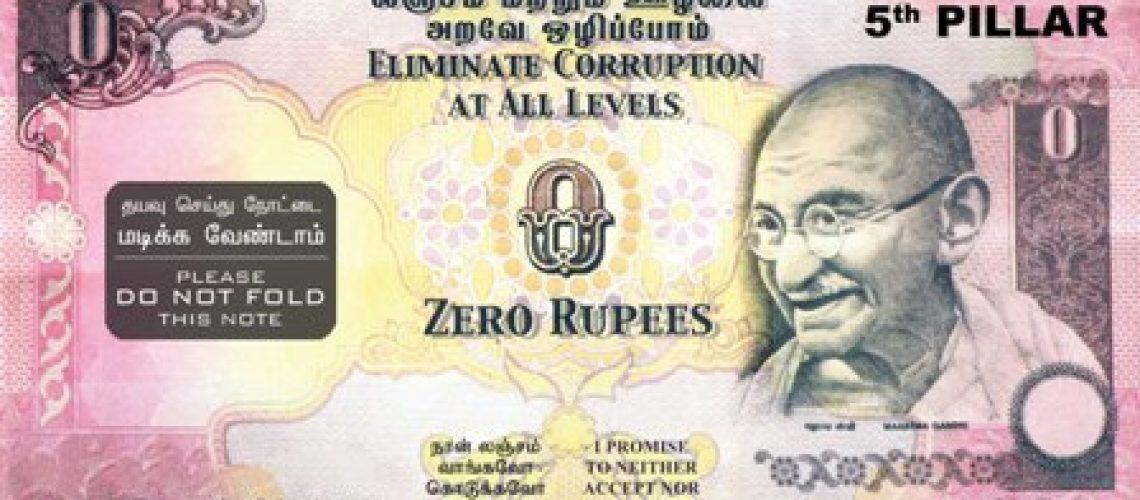 Notas de zero para corruptos